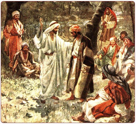 Image result for jesus at caesarea philippi
